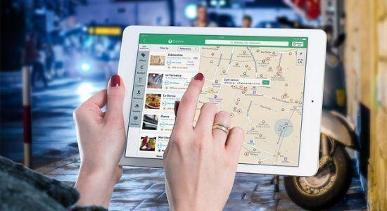 seo lokalne - pozycjonowanie lokalne - mapa