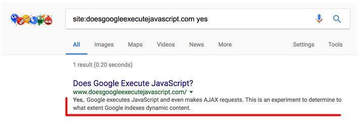 Google egzekwuje JavaScript i Ajax