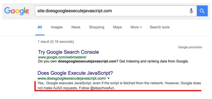 Google egzekwuje JavaScript