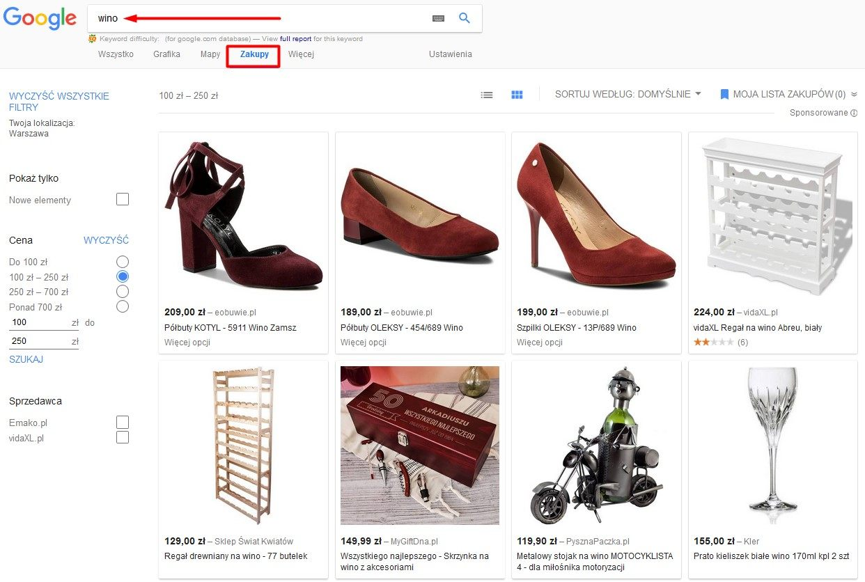 google shopping actions - co to